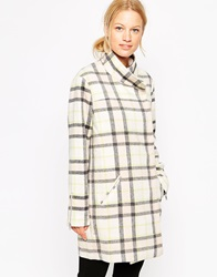 Finders Keepers Long Time Coat Tartancreampuff