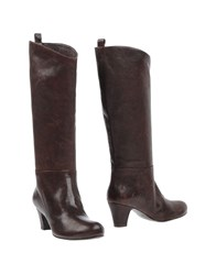 Rosamunda Footwear Boots Women Dark Brown