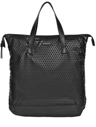 Diesel Faux Leather And Rubberized Print Tote Bag