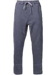 Meanswhile 'Sweat Rib' Trousers Grey