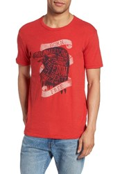 Lucky Brand Men's Born Free Graphic T Shirt
