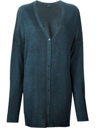 Avant Toi Long Cardigan Blue
