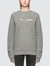 Maison Martin Margiela Cut Out Sweatshirt