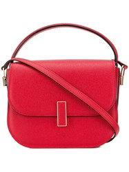 Valextra Iside Tote Bag Red