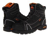 Thorogood 6 Lace To Toe Black Oiled Work Boots