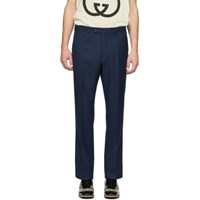 Gucci Navy Twill Trousers