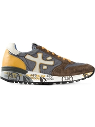 Premiata Printed Sneakers Multicolour