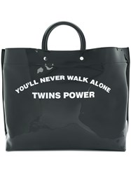 Dsquared2 You'll Never Walk Alone Shopper Black