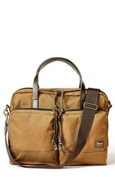 Filson Dryden Briefcase Brown Whiskey