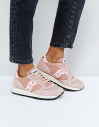 Saucony Jazz O Vintage Trainers In Pink