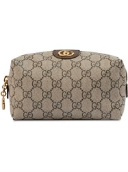 Gucci Ophidia Gg Cosmetic Case Neutrals