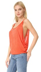 Free People Sand Dollar Tank Red