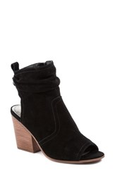 Latigo Arma Open Toe Bootie Black