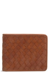 Trask Men's Woven Leather Wallet