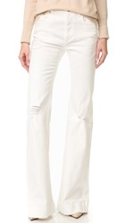 Roberto Cavalli Denim Trousers Bianco