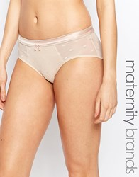 Cake Lingerie Cake Maple Mousse Maternity And Nursing Brief Beige