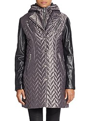 Dawn Levy Sly 2 Convertible Vest And Jacket Grey