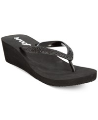 Reef Mid Mist Ii Wedge Flip Flops Women's Shoes