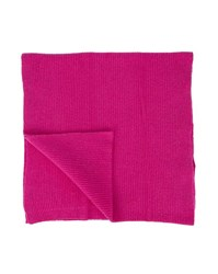 Scotch And Soda Pink Ribbed Scarf