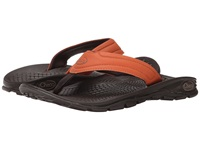 Chaco Z Volv Flip Synth Umber Men's Sandals Brown