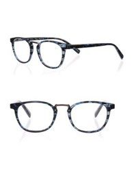 Eyebobs Hung Jury 15 46Mm Round Reading Glasses Blue