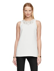 Kate Spade Embellished Sleeveless Top