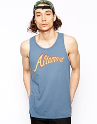 Altamont Tank With Logo Blue