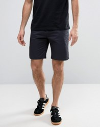 Penfield Yale Solid Chino Shorts Straight Tricolour Waist In Navy Navy