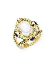 Temple St. Clair Celestial 18K Yellow Gold Statement Ring No Color