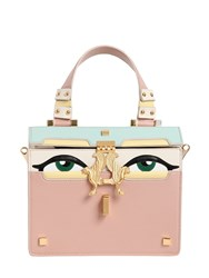 Giancarlo Petriglia Mini Peggy Eyes Leather Top Handle Bag