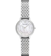 Emporio Armani Stainless Steel Watch With Quartz