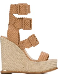 Paloma Barcelo 'Renee' Sandals Nude And Neutrals
