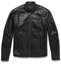 Acne Studios Aleks Leather Jacket Black