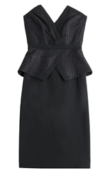 Tamara Mellon Crepe Cocktail Dress