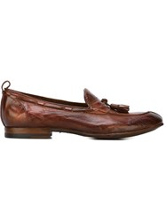 Silvano Sassetti Tassel Loafers Brown