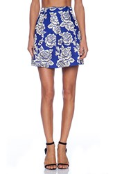 Sister Jane Golden Rose Skirt Blue