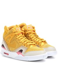 Nike Air Tech Challenge Ii Suede Sneakers Yellow