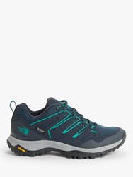 The North Face Hedgehog Fastpack Ii 'S Waterproof Hiking Shoes Urban Navy Green