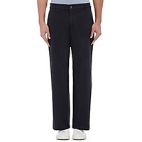 Barena Venezia Men's Twill Wide Leg Trousers Navy