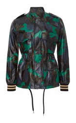 Tomas Maier Military Camo Jacket Green