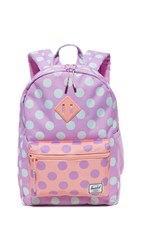 Herschel Supply Co. Heritage Youth Backpack Lupine Polka Dot
