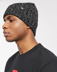 The North Face Chunky Rib Beanie In Black