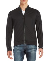 Calvin Klein Big Zipper Jacket Black