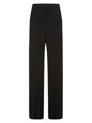 Hobbs Ayr Wide Leg Trousers Black