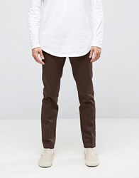 Dickies 872 Work Pant Slim Chino Brown