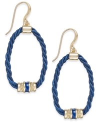 Charter Club Rope Loop Drop Earrings Only At Macy's Gold