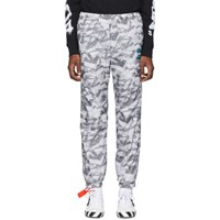 Off White Grey All Over Arrows Lounge Pants
