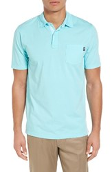 Vineyard Vines Men's Garment Dyed Jersey Polo Poolside
