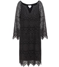 Velvet Cayla Broderie Anglaise Dress Black