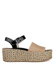 Kenneth Cole Danton Ankle Strap Espadrille Red Multi